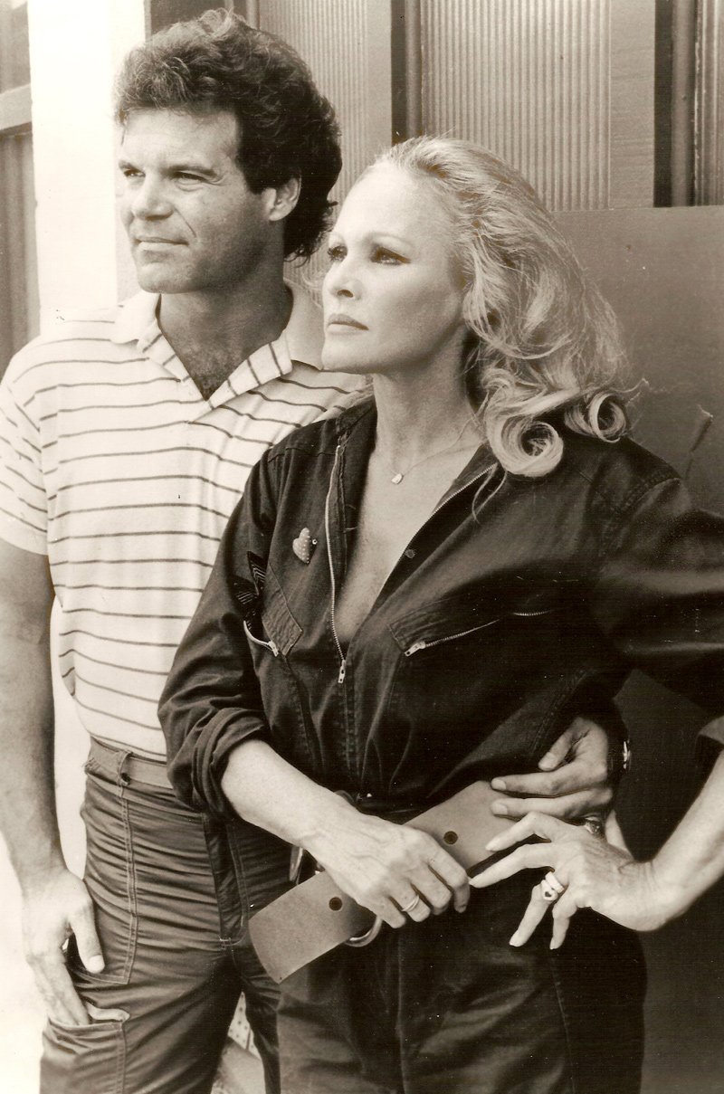 Ed Lozzi and Ursula Andress